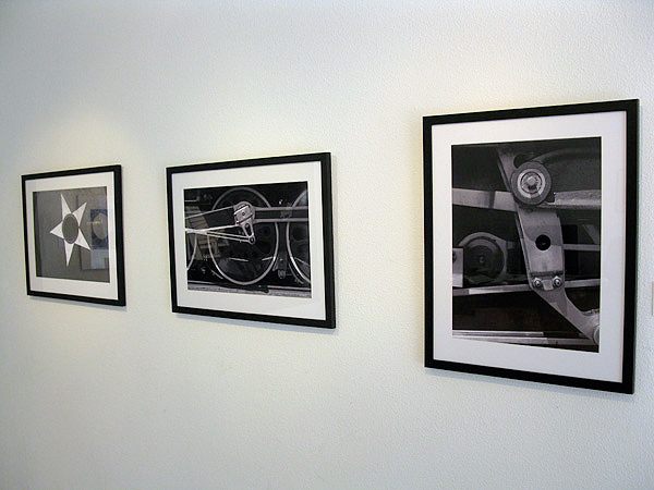 A series of running gear photographs by don hall the black and white exhibition