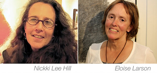 liberty arts gallery yreka ca presents artists nickki lee hill and eloise larson exhibition the great ocean