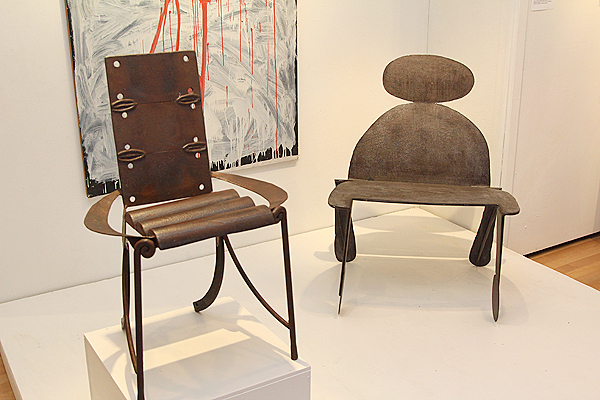Chairs & Painting by William Wareham