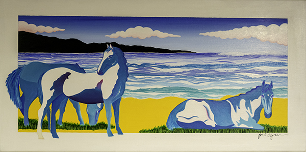Phil Dynan, Blue Horses on the Mediterranean