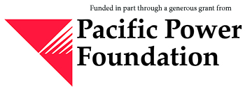 Funded in part by Pacific Power Foundation