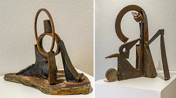 David Gochenour, welded steel maquettes