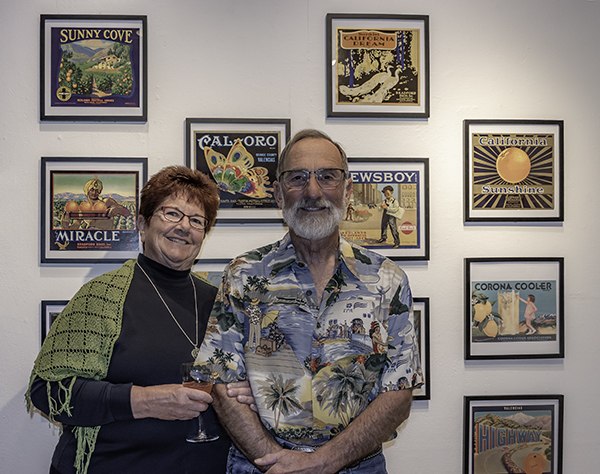 Marie & Steve Mains, co-curators and the inspiration for The Art of Persuasion.