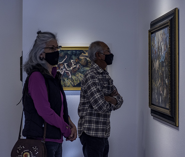 The 9th Annual Forgery Show with the ArtRoster atelier painters of Mt. Shasta.