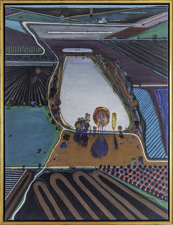 Anne McTavish, Ponds and Streams by Wayne Thiebaud 2001, The 9th Annual Forgery Show, Liberty Arts, Yreka, CA