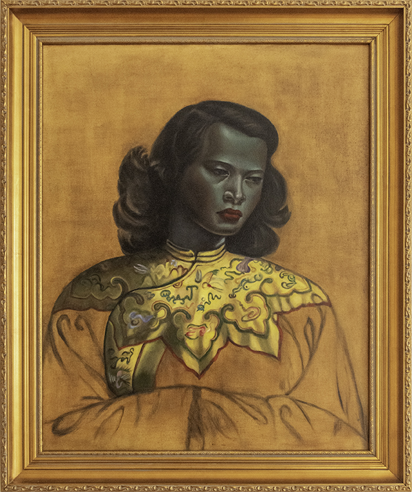 Judy Hester, The Chinese Girl by Vadimir Tretchikoff 1952-1953,The 9th Annual Forgery Show, Liberty Arts, Yreka, CA